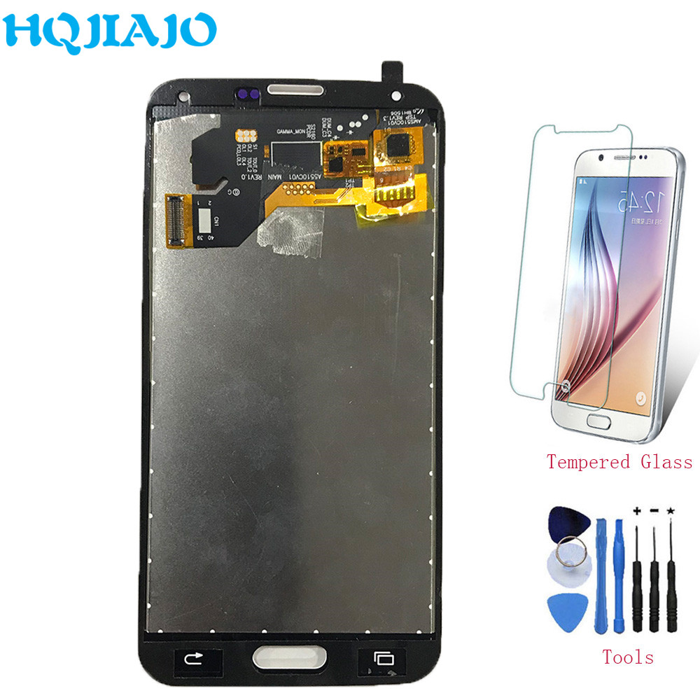 Test LCD Screen For <font><b>Samsung</b></font> S5 G900 LCD <font><b>Display</b></font> Touch Screen Digitizer For <font><b>Samsung</b></font> Galaxy S5 i9600 <font><b>G900F</b></font> G900I G900M Assembly image