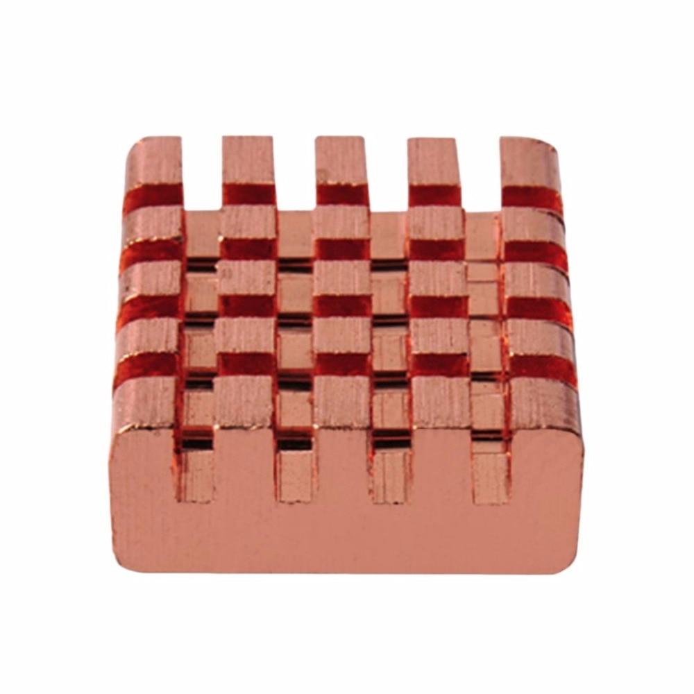 8 pcs/Pack PCCOOLER RHS-03 cuivre pur DDR DDR2 DDR3 mémoire dissipateur de chaleur avec fond auto-adhésif bande RAM radiateur refroidisseur