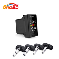Diagnostic Tool Careud U912 Tyre Pressure Monitoring System Car TPMS PSI/BAR with 4 Internal Sensors LCD Display For Japan cars