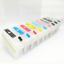 For Epson P600 Refillable ink cartridge surecolor SC-P600 printer With Auto Reset Chips T7601 -T7609