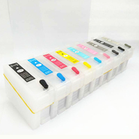 vilaxh For Epson P600 Refillable ink cartridge For Epson surecolor SC P600 printer With Auto Reset Chips T7601 T7609