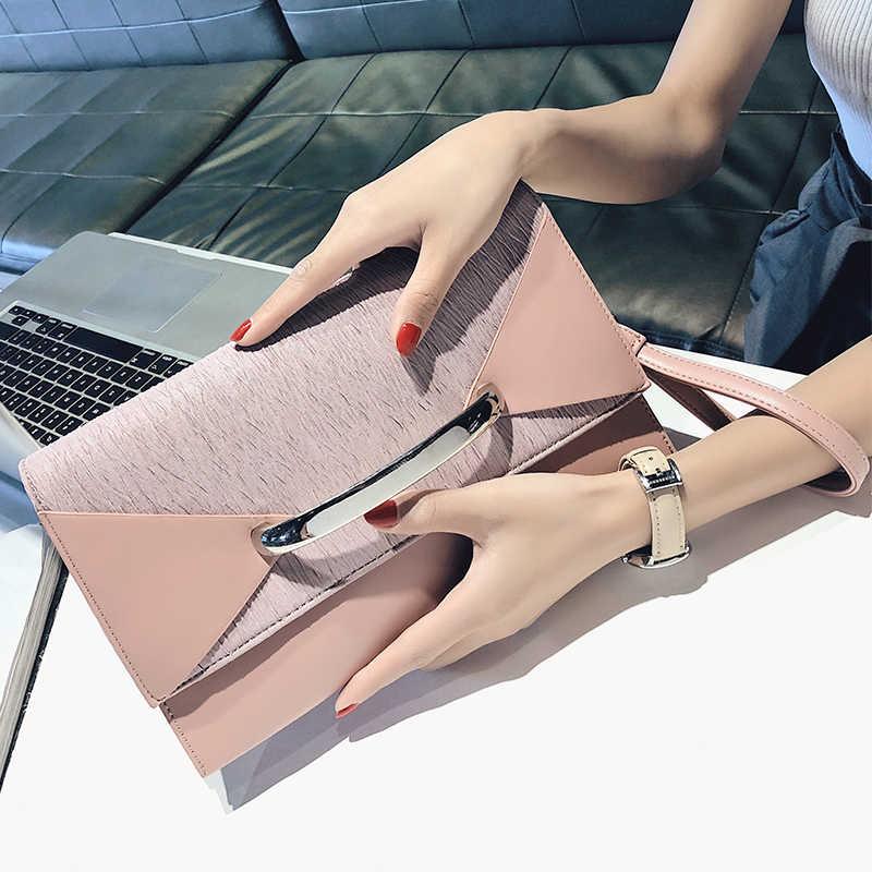 Wanita Hari Tas Genggam Tas Drand Desain Wanita Pu Kulit Tas Bahu untuk Wanita Tas Selempang Pesta Mewah Lady Malam tas