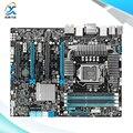 Para asus p8z77 ws original usado motherboard desktop para intel z77 soquete LGA 1155 DDR3 32G 4 * PCI-E3.0 SATA3 USB3.0 ATX À Venda