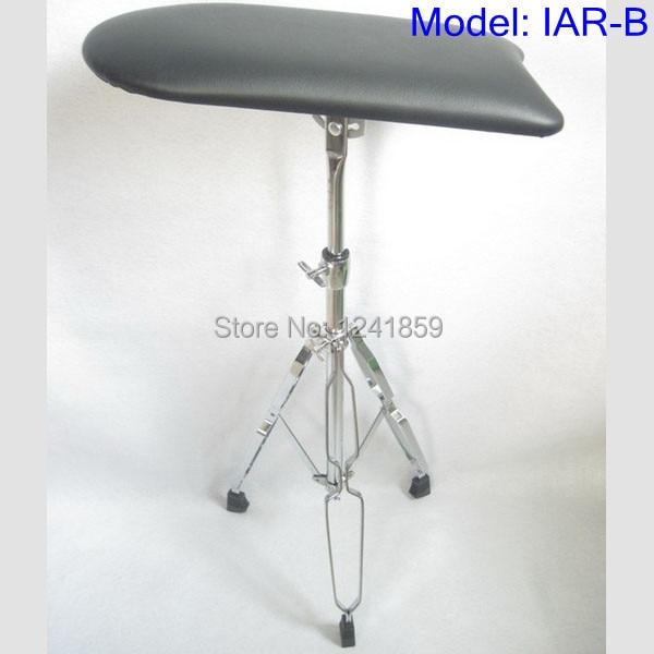 Bras en acier Jambe Reste Stand Portable Réglable Chaise Pour Le Studio De Tatouage Travail Fournir IAR-B #