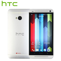 T Mobile Version HTC One M7 Mobile Phone Quad Core 4 7 Touch Screen 2GB RAM