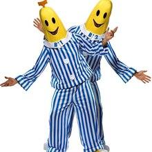 Cosplay Bananas in Pyjamas Costume TV Show Costume Bananas in Pajamas costume Bananas costume