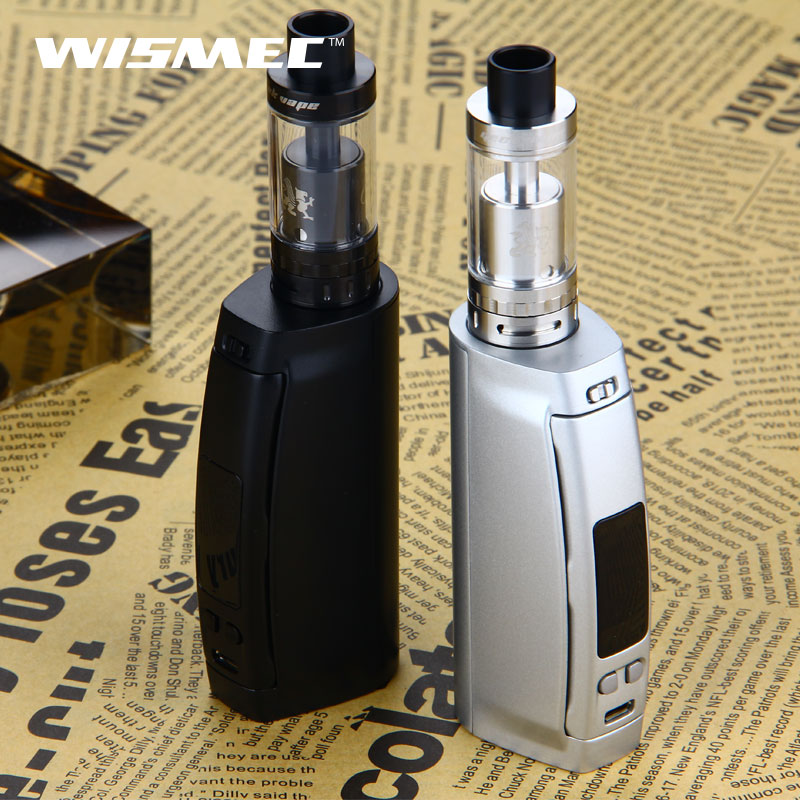 WISMEC Presa TC 100W Box Mod Vape for Griffin RTA Rebuildable Tank Atomzier Full Kit VS TC100W presa mod ecig NO Battery vandy vape kylin rta
