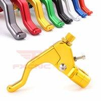 7/8 CNC Motorcycle Dirt Pit Bike Stunt Clutch Lever Cable Perch For Suzuki RM85 DR250R RMZ250 RMZ450 DRZ400SM RM250 RM125