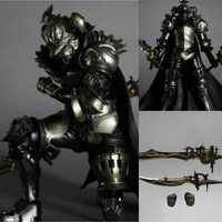 Anime Movie game Final Fantasy Judge Master Gabranth Action Figure Toy Playarts Kai figurine brinquedos Model Play arts Kai doll