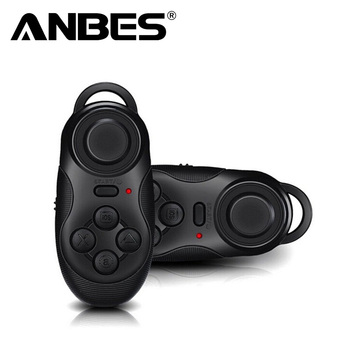 Mini Gamepad Bluetooth Gamepads Game Controller Joystick Selfie Remote Shutter Wireless Mouse for iOS Android Smartphone TV Box