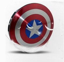 Vengadores Capitán América Shield USB Cargador de Banco de la Energía 6800 mAh para todo el teléfono móvil con El envío libre Del Paquete