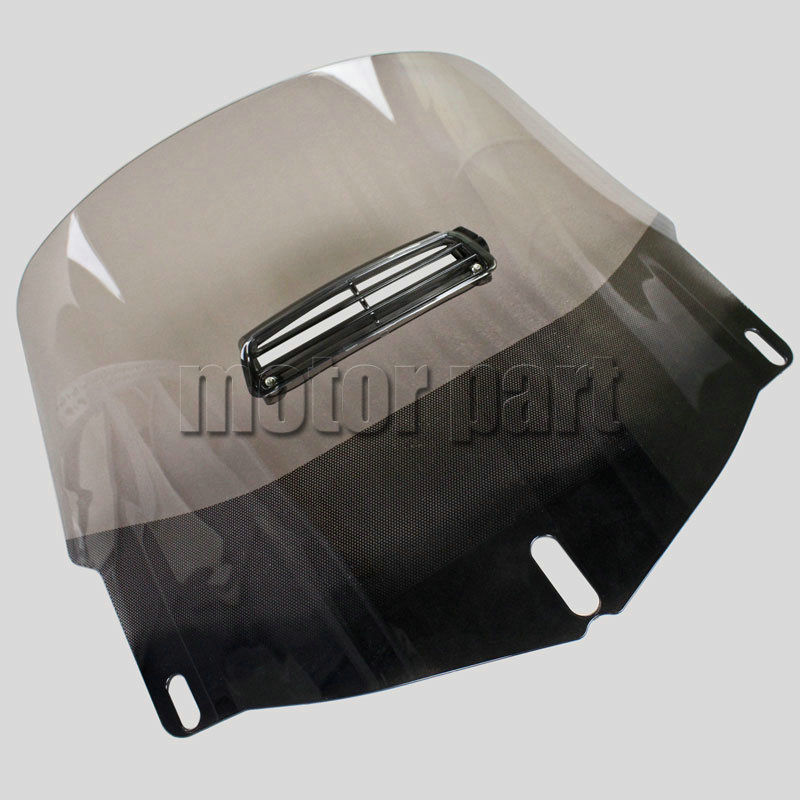 3 Holes Motorcycle Windshield Windscreen With a Visor Vent For Honda Goldwing 1800 GL GL1800 2001