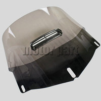 3 Holes Motorcycle Windshield Windscreen With A Visor Vent For Honda Goldwind 1800 GL1800 2001 2013