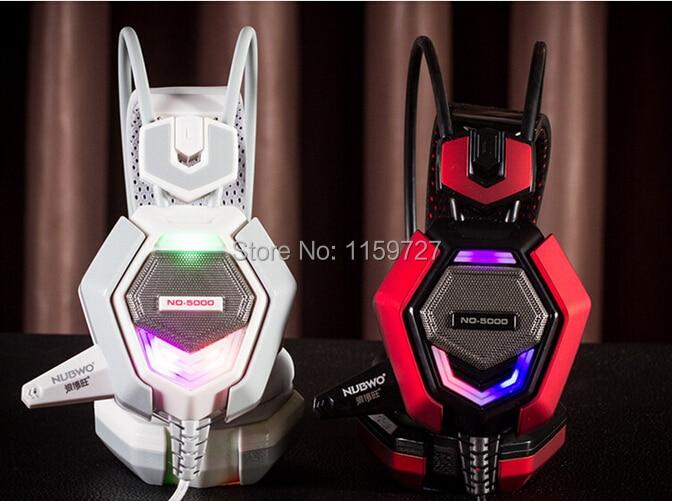 Kõrgeima kvaliteediga Stereo LED Shinning Gaming kõrvaklapid - Kaasaskantav audio ja video - Foto 3