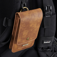 Outdoor Climbing 6 5 Below General Pouch Flip Pocket Real Leather Protective Phone Cover Case With