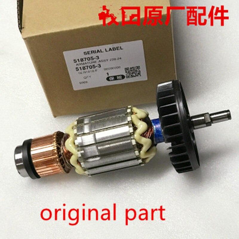 AC220-240V Original Armature Rotor Anchor for MAKITA 9067 9067S 9069 9069S 9069X 9067F 9069F Anchor motorAC220-240V Original Armature Rotor Anchor for MAKITA 9067 9067S 9069 9069S 9069X 9067F 9069F Anchor motor