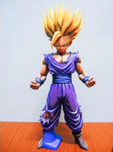 Dragon Ball Figure Son Gohan Figure MSP Super Saiyan Figure PVC 180mm Dragon Ball Z Action