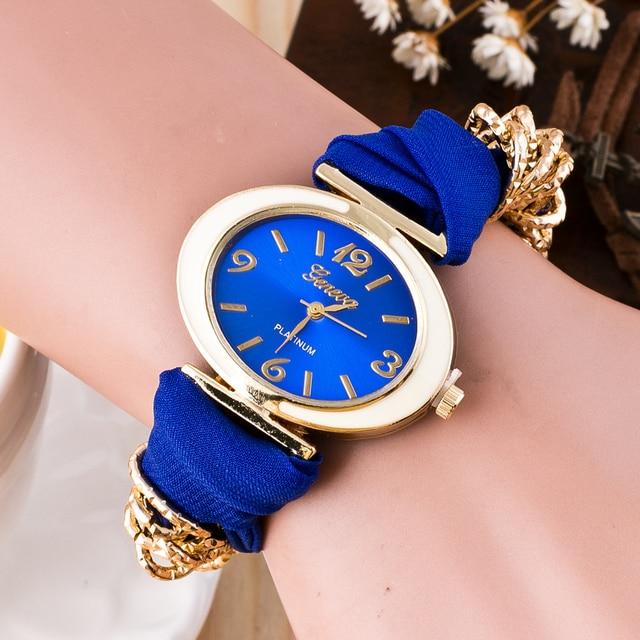 Aimecor Bracelets For Women Fashion Cute Quartz Bracelet Female Watch Fabric Ana