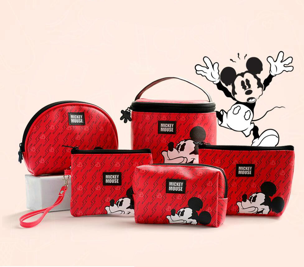 Disney Mickey Coin Multi-function Women Bags Wallet Bags Fashion Mommy Bags For Girls Gifts