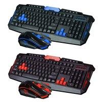 2.4GHz Wireless Gaming Gamer Keyboard & 1600DPI Optical Mouse Set for Desktop PC Laptop Gaming Keyboard Mouse Combos