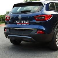 For Renault Kadjar 2017 2016 2015 Door Sticker Stainless Steel Back Door Tailgate Trim Car Styling