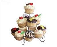 3 niveau 13 tasses gâteau gâteau stands stands stands de gâteau de mariage gâteau pop stand et Sucette Titulaire pour décorations de fête