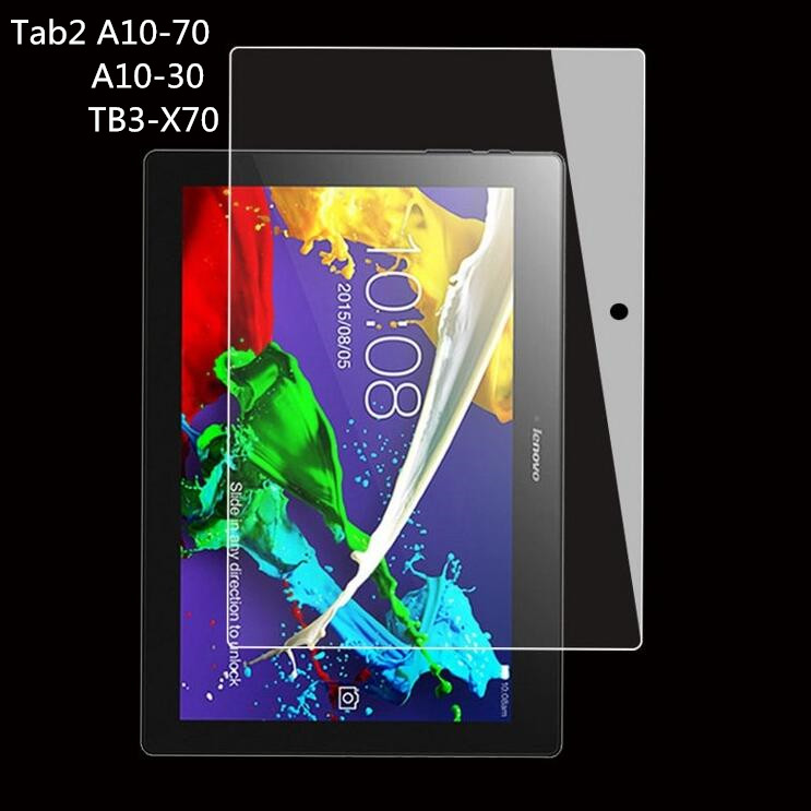 9H Tempered Glass Screen Protector guard Film For Lenovo Tab 2 A10 A10-70 A10-70F A10-70L Tab2 X30F A10-30 10.1