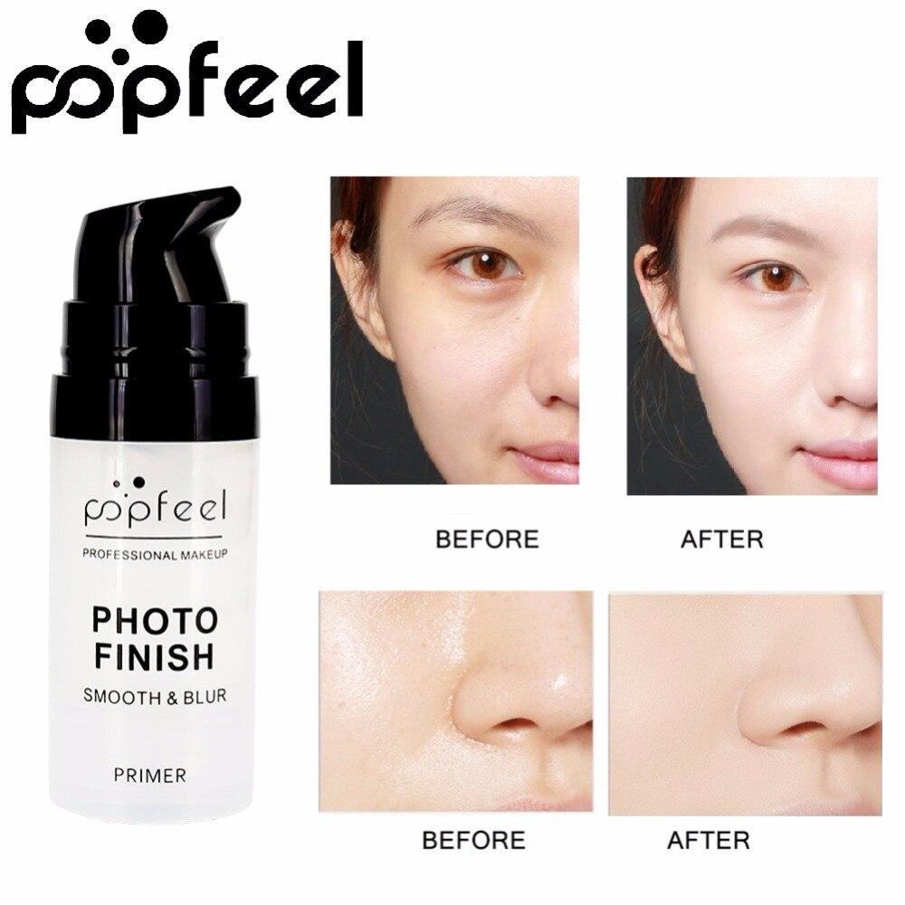 POPFEEL Pure Matte Face Base Primer Makeup Natural Moisturizer Cream Foundation Eye Shadow Primer Cosmetics Maquiagem BTZ1 TSLM1