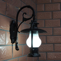 Outdoor waterproof Corridor Wall Lamp Vintage Villa European kerosene Bottle Landscape Hallway Door Bedroom Bedside Wall Sconces