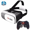 VR Glasses Box Cardboard VR BOX 2.0 Universal Virtual Reality 3D Video Glasses with Gamepad for 3.5 to 6 inch Smartphones