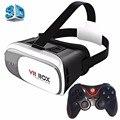 VR VR Очки Коробка Картонная КОРОБКА 2.0 Универсальный Виртуальной Реальности 3D Видео Очки с Геймпад для 3.5 до 6 дюймов смартфоны
