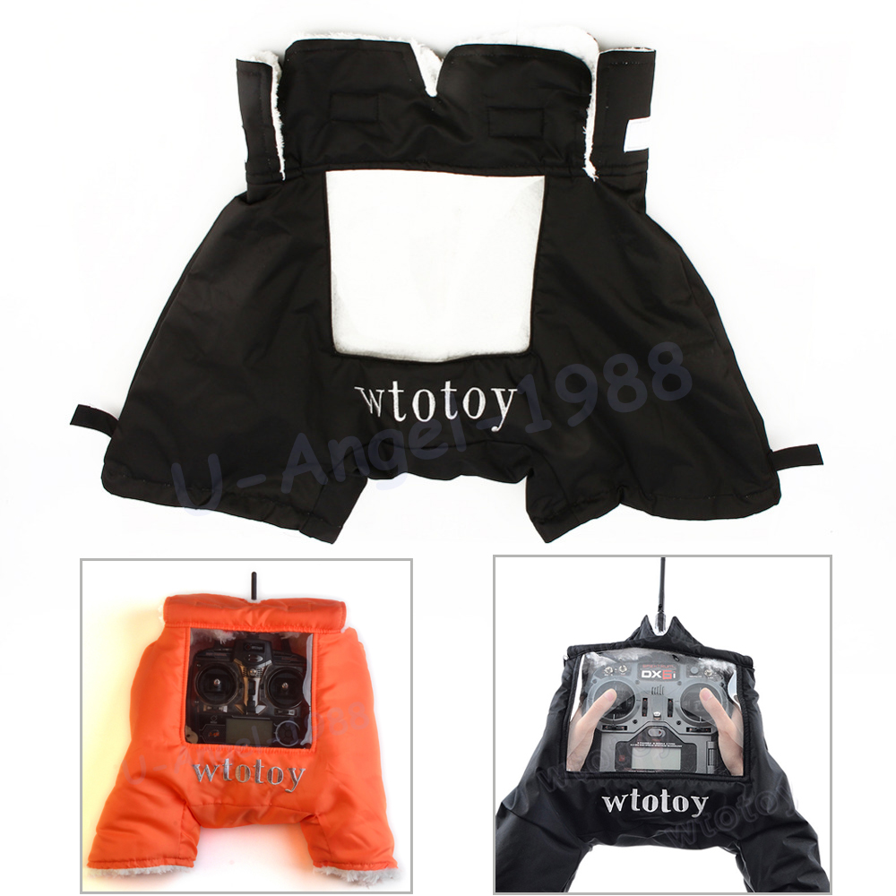 1pcs Winter Warm Glove Cold Air Shield Hood Hand Warmer Gloves Anti-Wind Warmers Outdoor Protection For RC Transmitter
