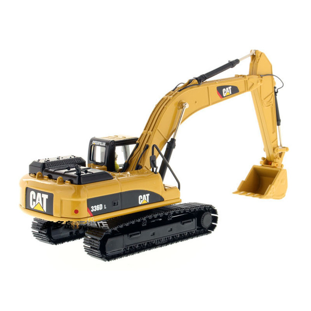 DM Caterpillar 1/50 CAT 336D L Hydraulic Yellow Excavator Model Alloy Engineering Vehicles 85241