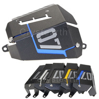 6 Colors Motorcycle Radiator Water Coolant Resevoir Tank Guard Cover For YAMAHA MT 07 MT07 FZ 07 FZ07 2013 2014 2015 2016 2017