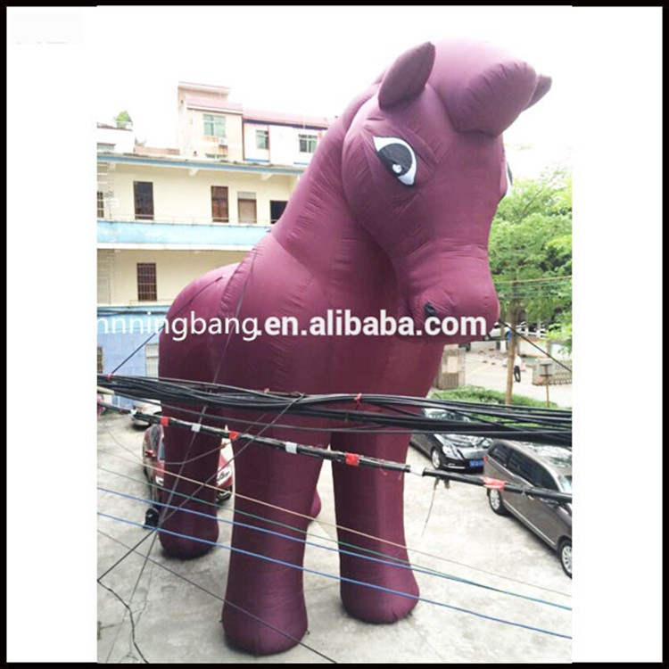inflatable horse-