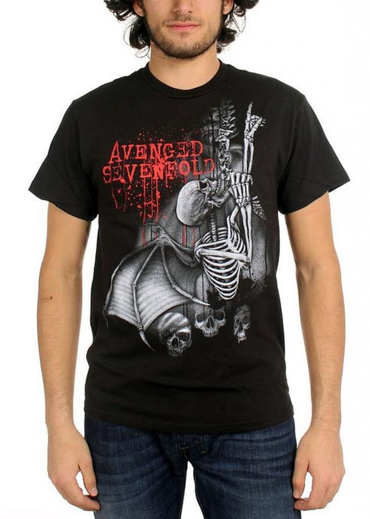 Avenged Sevenfold Spine Climber Shirt T-Shirt Male Hipster Tops ...