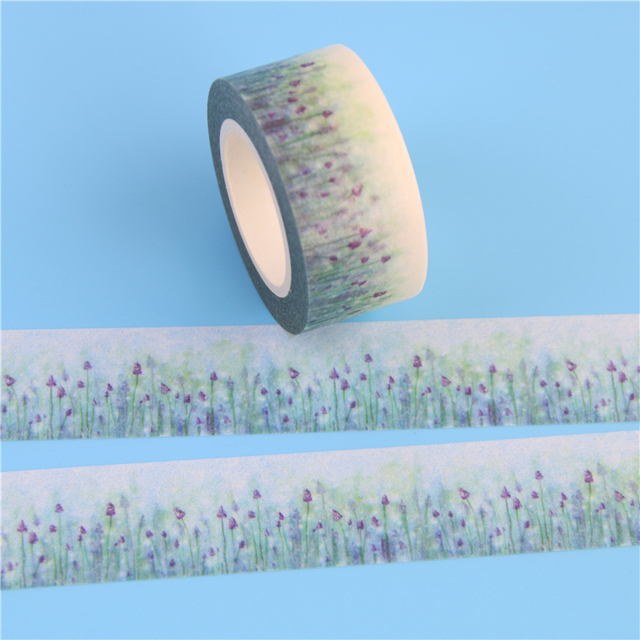 Lavender Flower Washi Tape