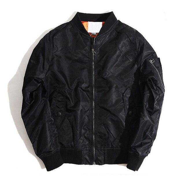Модный бренд 2018 осень и зима MA 1 пилот куртка для мужчин и женщинpilot jacketbrand jacket menfashion jacket men  АлиЭкспресс
