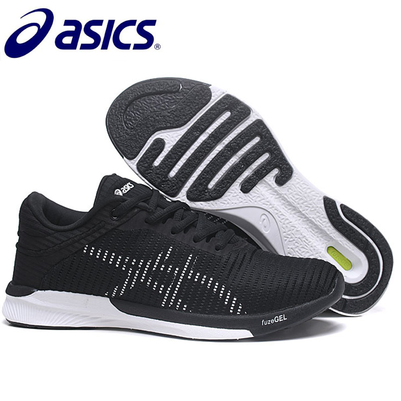 цена на NEW Original ASICS Fuzex Rush Adapt Sport Shoes For Men Running Shoes ASICS Sports Shoes Sneakers Outdoor Walkng Jogging