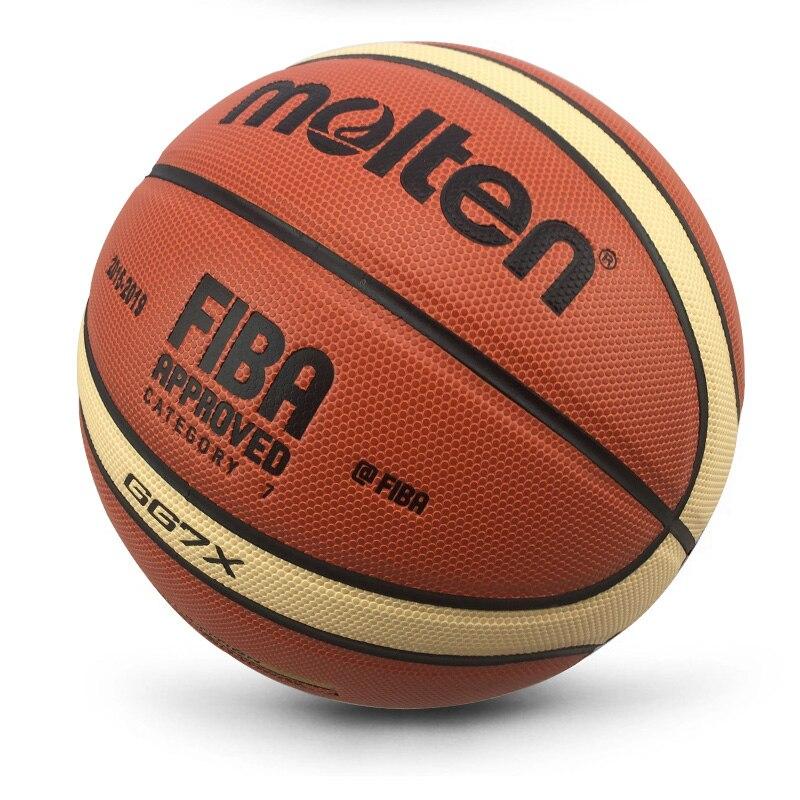 Sprzedaż hurtowa lub detaliczna nowa marka wysokiej jakości piłka do koszykówki piłka PU Materia oficjalna rozmiar7/6/5 koszykówka za darmo z torba z siateczką + igła