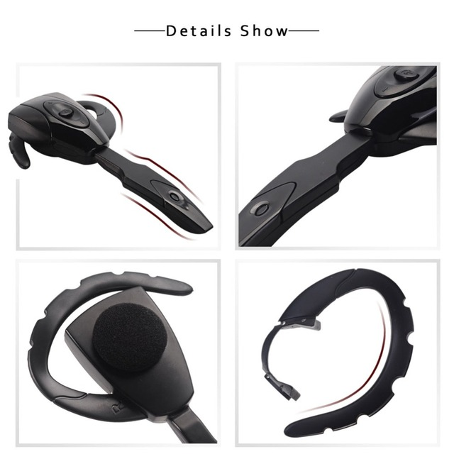 New Mini Sport Earphone Bluetooth 4.1 Wireless Headset Handfree Ear Hook Earphones with mic For Samsung PS3 Game Console