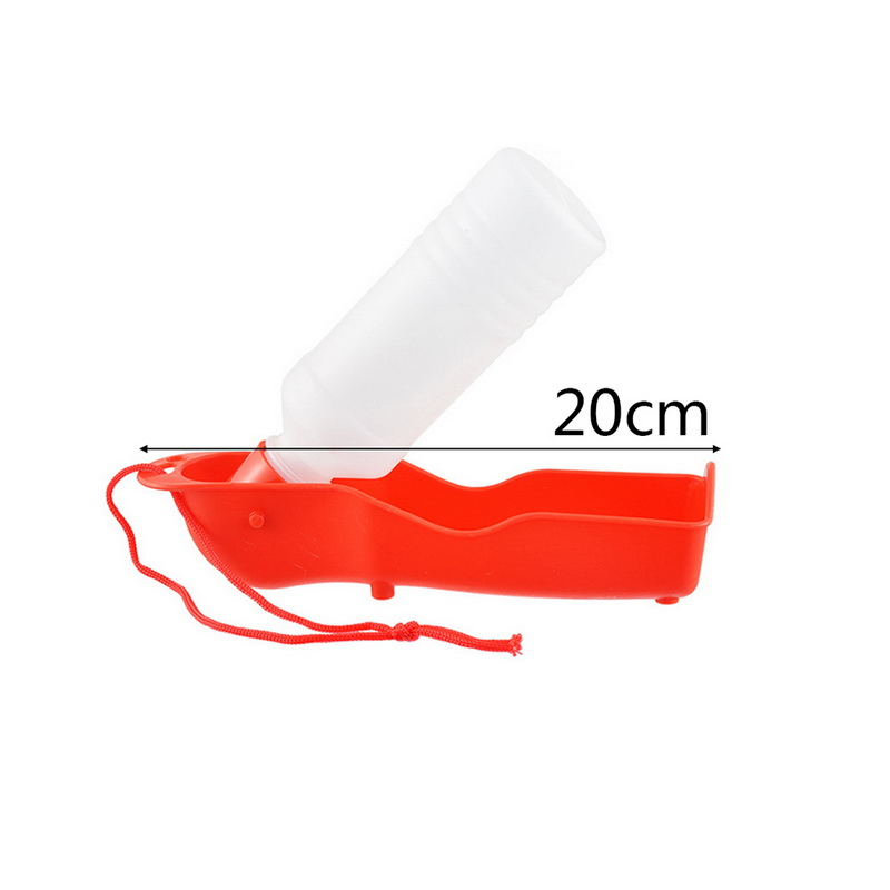 Hoomall 250ml Plastic Foldable Dog Water Bottle Kitten Puppy Dog Feeder Outdoor Travel Portable Bottle Cats Dogs Pet Accessories #5