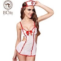 Leechee Q877 latex XXX femmes lingerie sexy chaude érotique infirmière cosplay uniforme lenceria porno tentation sexo robe sexy boutique