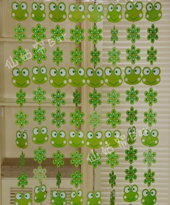 cortina de puerta lindo de dibujos animados de plstico pvc cortina decoracin del hogar de la
