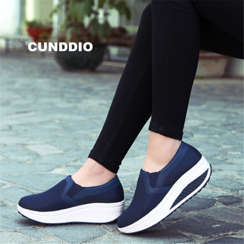 plus 35-42 Women shoes leisure Height Increasing Casual Shoes Fashion Sneakers women for Swing Shoes Breathable tenis feminino Обувь