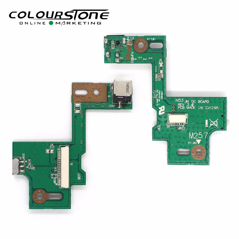 DC Power Jack Switch PCB Board For ASUS N53 N53S N53J N53TA N53TK N53SM N53SN N53SV N53JN N53JF N53JQ N53JG N53DA N53SL тестер сопротивления amber at511a dc low resistance tester upper and lower limits of sorting 10 29 99k at511a 10 29 99k