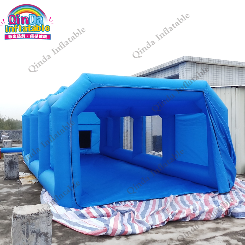 все цены на Free shipping High Quality outdoor Spray Booth With CE mobile portable Inflatable Spray Booth Inflatable Paint Booth онлайн