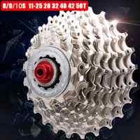 Fahrrad Freilauf 8 9 10 Geschwindigkeit 25 32 28 40 42 50T Breite Verhältnis Freilauf Auf MTB Mountainbike radfahren Kassette Schwungrad Kettenrad