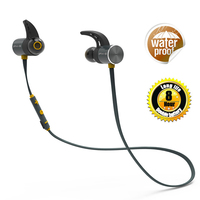 Plextone BX343 Wireless Dual Battery 8 Hours Headphone Bluetooth IPX5 Waterproof Earbuds Magnetic Headset Earphone