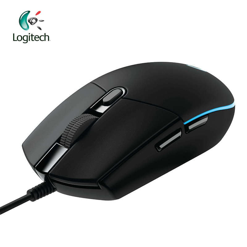 Original Logitech G102 Gaming Wired Mouse Optical Wired Game Mouse Support Desktop/ Laptop Support windows 10/8/7(China)